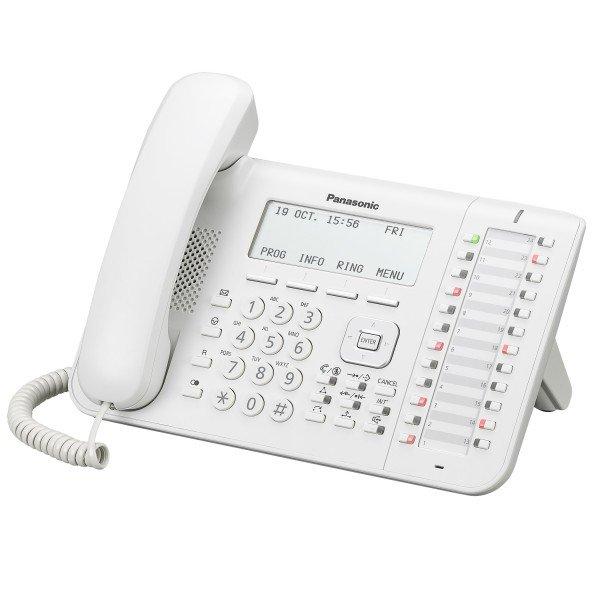 Купить Системные телефоны, Системный телефон Panasonic KX-DT546RU White (цифровой) для АТС Panasonic