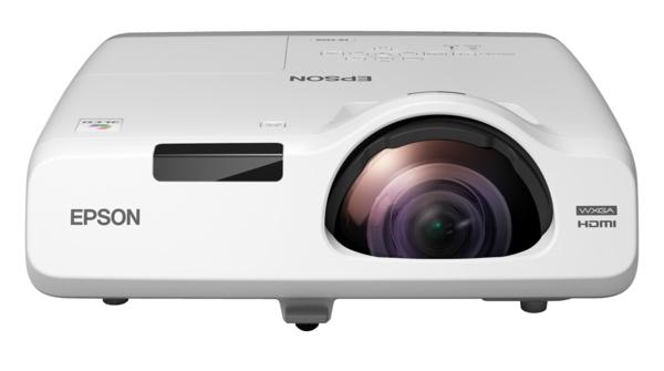 Купить Короткофокусный проектор Epson EB-535W (3LCD, WXGA, 3400 ANSI lm) (V11H671040)