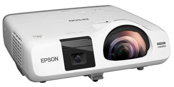 Купить Короткофокусный проектор Epson EB-536Wi (WXGA, 3400 ANSI Lm) (V11H670040)