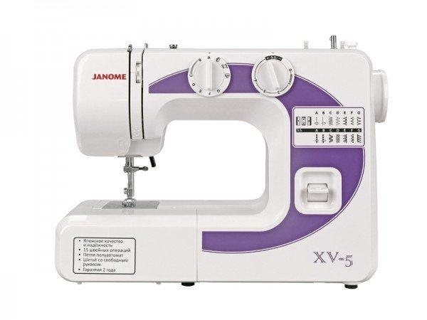 Бытовая швейная машина JANOME XV-5