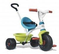 Трехколесный велосипед Smoby с багажником зеленый (444239)