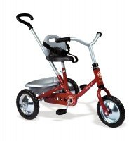 Трехколесный велосипед Smoby Zooky с багажником красный (454015)