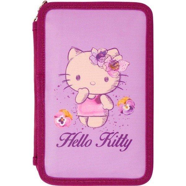 Пенал Kite 2 отделения без наполнения Hello Kitty (HK16-623) фото