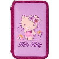 Пенал Kite 2 отделения без наполнения Hello Kitty (HK16-623)