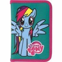 Пенал Kite 1 відділення 1 відворот без наповнення My Little Pony (LP16-621)