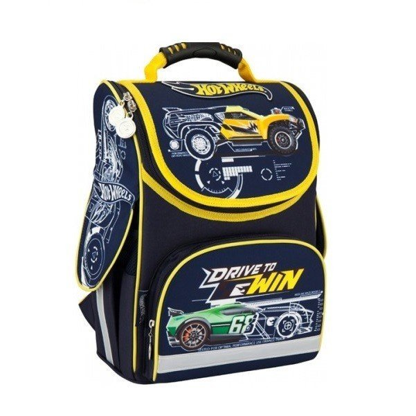 c441d895ac30 ≡ Рюкзак школьный Kite каркасный Hot Wheels (HW16-501S) – купить в ...