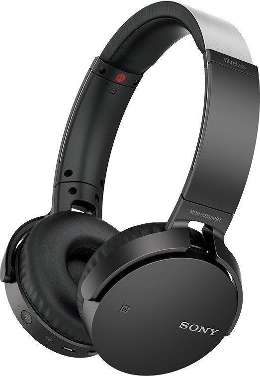 ≡ Наушники Bluetooth Sony MDR-XB650BT Black – купити в Києві  0c383faf7c12d