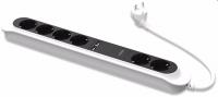 Сетевой фильтр DIGITUS 6 розеток, с 2-мя разъемами USB