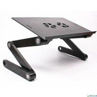 Підставка для ноутбука Maxxtro столик LD3 алюміній