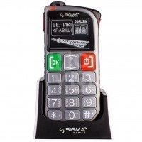 Мобильный телефон Sigma Comfort 50 Light DS Gray