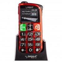 Мобильный телефон Sigma Comfort 50 Light DS Red