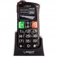 Мобильный телефон Sigma Comfort 50 Light DS Black