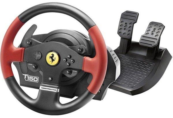Купить Игровые манипуляторы, Руль и педали Thrustmaster для PC/PS3/PS4 T150 Ferrari (4160630)