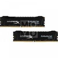 Пам'ять для ПК Kingston HyperX Savage Black DDR4 2800MHz 8Gb (2x4GB) (HX428C14SB2K2 / 8)