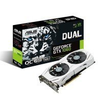 Відеокарта ASUS GeForce GTX 1060 6GB GDDR5 DUAL OC (DUAL-GTX1060-O6G)