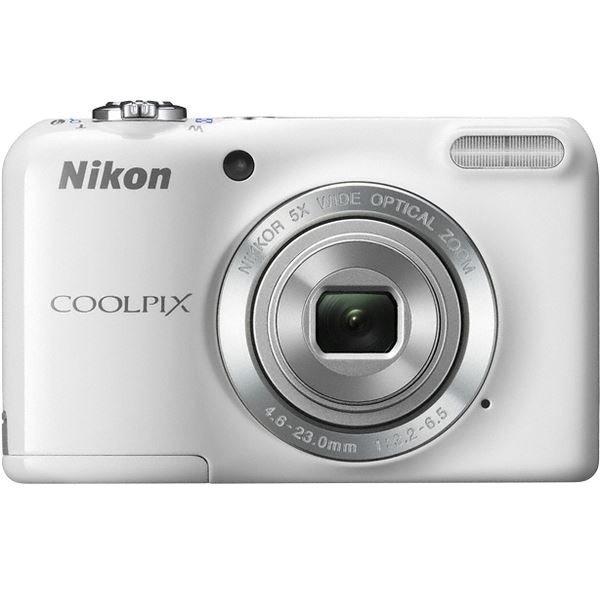 ≡ Фотоапарат NIKON Coolpix L27 White (VNA363E1) – купити в Києві ... 229921c72d2f2