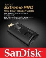 Кардрідер SANDISK USB 3.0 SDHS/UHS-I/UHS-II Black