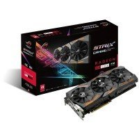 Видеокарта ASUS Radeon RX 480 8GB DDR5 Strix Gaming (STRIX-RX480-O8G-GAMING)