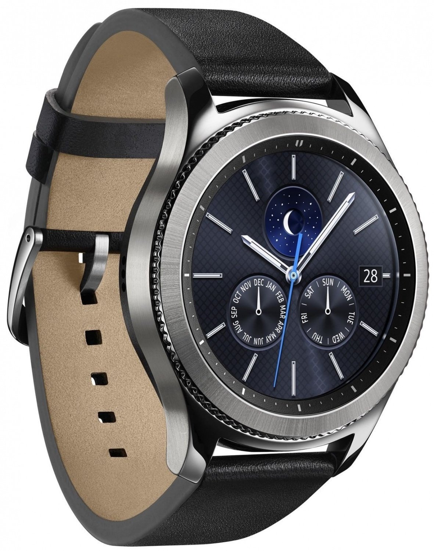 ≡ Смарт-годинник SAMSUNG Galaxy Gear S3 Classic Silver – купити в ... 68b5615899389