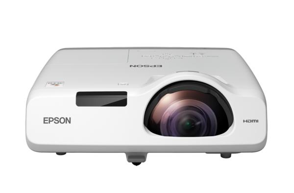 Короткофокусный проектор Epson EB-530 (3LCD, XGA, 3200 ANSI lm) (V11H673040)  - купить со скидкой