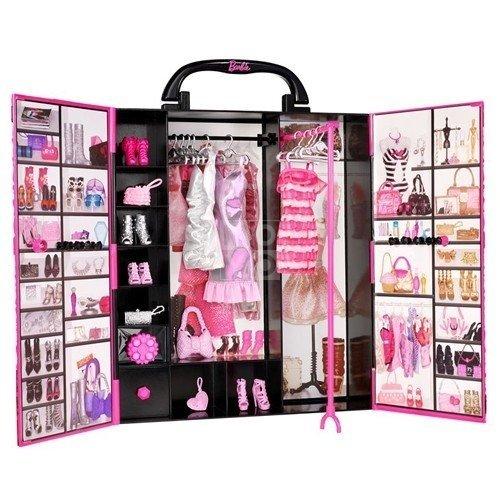 ≡ Ігровий набір Barbie Шафа-валіза для одягу (DMT57) – купити в ... 3e930cc4bd3cf