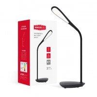 Настольная лампа MAXUS DKL 6W 4100K BK Ellipse (1-DKL-002-02)