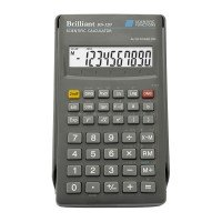 Калькулятор BRILLIANT инженерный BS-120 10+2р., 57 ф-ций (BS-120)