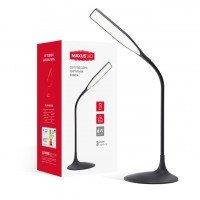 Настільна лампа MAXUS DKL 6W 4100K BK Square