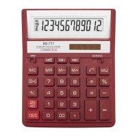 Калькулятор BRILLIANT BS-777RD 12р., 2-пит, червоний (BS-777RD)