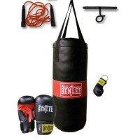 Детский набор для бокса Benlee Punchy 199077/1000 Черный (4250206844229)