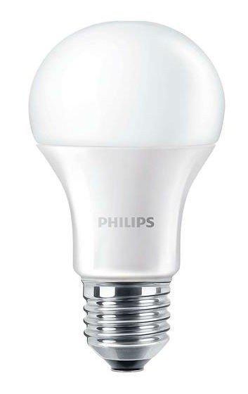 Лампа светодиодная Philips LEDBulb E27 9.5-60W 230V 4000K A60/PF CorePro фото 1
