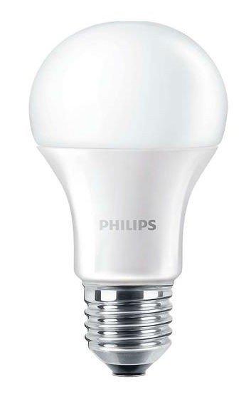 Лампа светодиодная Philips LEDBulb E27 9.5-60W 230V 4000K A60/PF CorePro от MOYO