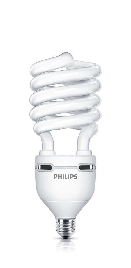Лампа энергосберегающая Philips E27 60W 220-240V WW 1CT/6 Tornado High Lumen фото