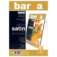 Фотобумага Barva PROFI Белый Сатин А4 5 л (IP-BAR-P-V200-T01)