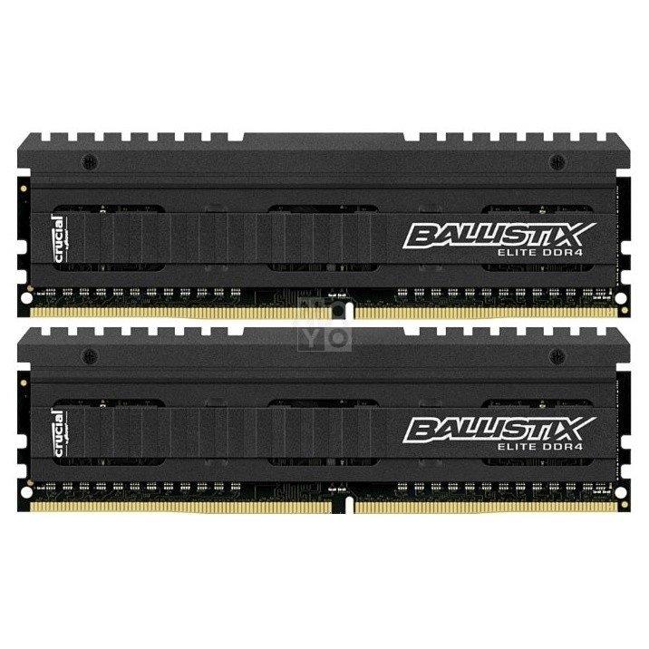 ≡ Память для ПК Micron Crucial Ballistix Elite DDR4 3000 16GB