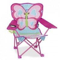 Раскладной стульчик Melissa&Doug Бабочка Белла (MD16693)