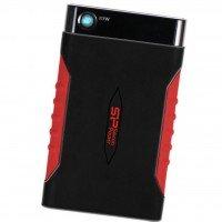 "Жесткий диск SILICON POWER 2.5"" USB3.0 Armor A15 2TB Black/Red (SP020TBPHDA15S3L)"