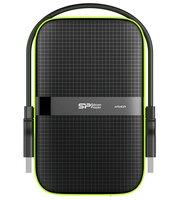"Жесткий диск SILICON POWER 2.5"" USB3.0 Armor A60 2TB Black (SP020TBPHDA60S3K)"