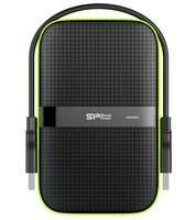 "Жесткий диск SILICON POWER 2.5"" USB3.0 Armor A60 1TB Black (SP010TBPHDA60S3K)"