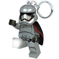 Брелок-фонарик LEGO Star Wars Капитан Фазма (LGL-KE96)