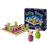 Шахматы SentoSphere Маленькие лягушата 12 шт (129)