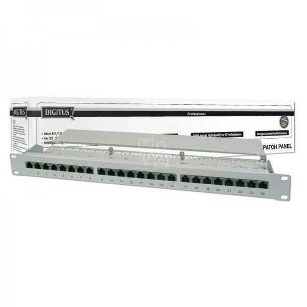 Купить Опции к пассивному сетевому оборудованию, Патч-панель DIGITUS 19 1U, 24 порта, 6 FTP в сборе