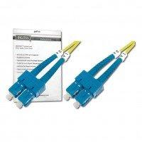 Оптический патч-корд DIGITUS SC/UPC-SC/UPC,9/125, OS2,duplex,1m