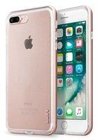 Бампер Laut для iPhone 8 Plus/7 Plus EXO-FRAME Aluminium Rose gold