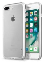 Бампер Laut для iPhone 8 Plus/7 Plus EXO-FRAME Aluminium Silver