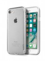 Бампер Laut для iPhone 8/7 EXO-FRAME Aluminium Silver