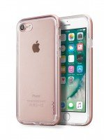 Бампер Laut для iPhone 8/7 EXO-FRAME Aluminium Rose Gold