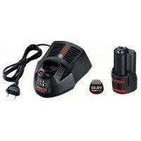 Аккумулятор для шуруповерта Bosch Li-Ion 10.8 В, 2.0 Ач и зарядное устройство