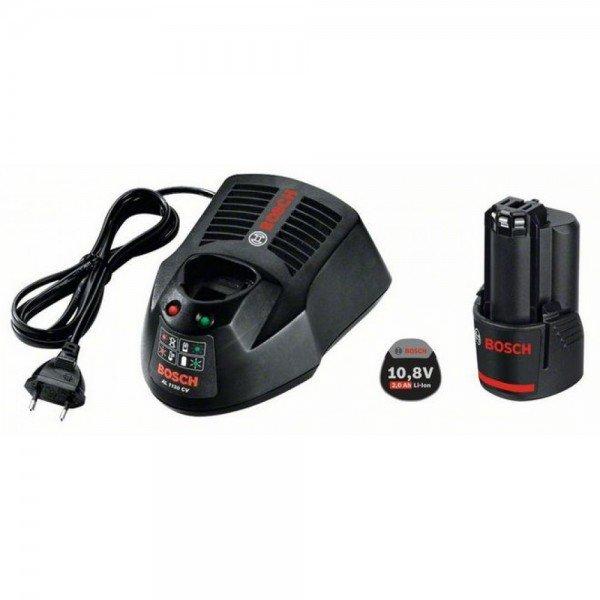 Купить Аккумулятор для шуруповерта Bosch Li-Ion 10.8 В, 2.0 Ач и зарядное устройство