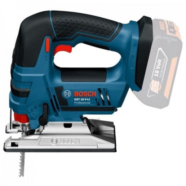 Купить Электролобзик аккумуляторный Bosch GST 18 V-LI B (без аккумулятора и зарядного устройства)